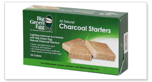 Big Green Egg's Natural Charcoal Starters from The Fireplace Man