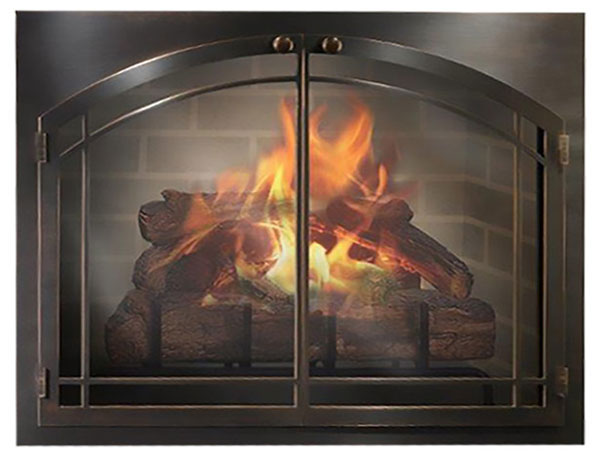 The Fireplace Man Glass Doors For Masonry Fireplaces
